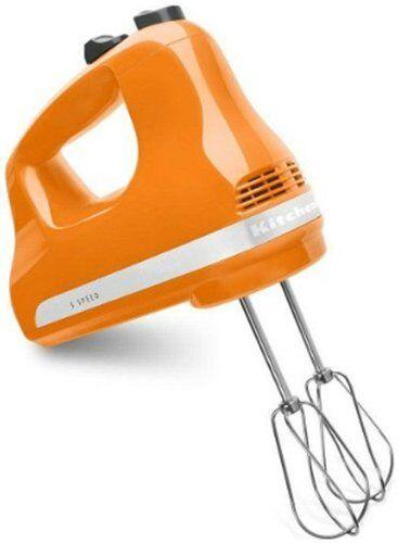 KitchenAid Hand Mixer 7 Speed Tangerine R-KHM7tg R-KHM720tg