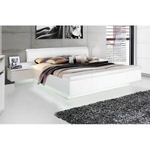 starlet 180 x 200 wei hochglanz bett doppelbett ehebett. Black Bedroom Furniture Sets. Home Design Ideas