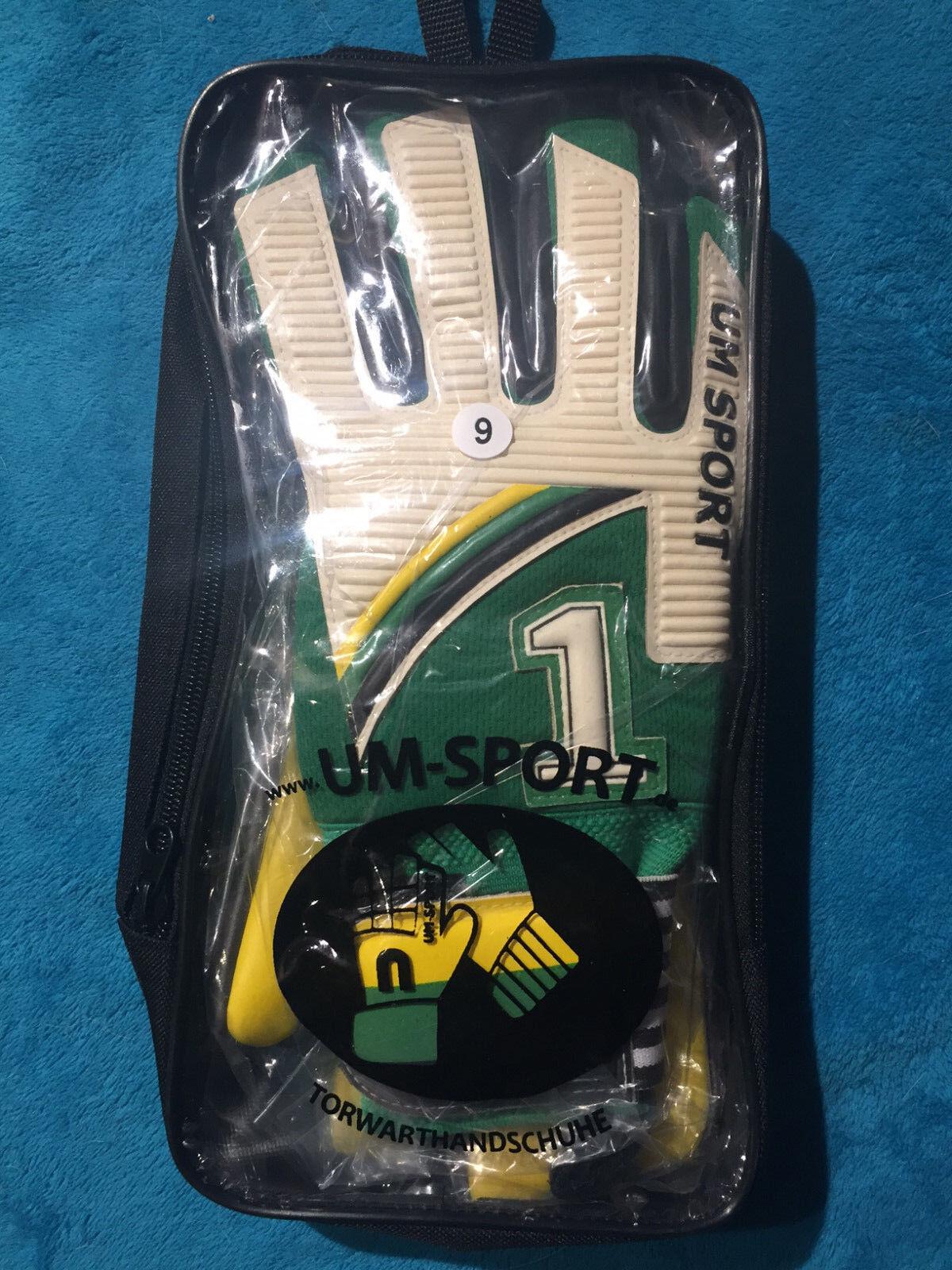 Torwarthandschuhe Goalkeeper Gloves,Guanti, Gantes, Vintage, Schumacher, Gr.9