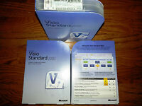 Microsoft Visio Standard 2010,sku D86-04533,sealed Retail Box,full,32-bit,64-bit