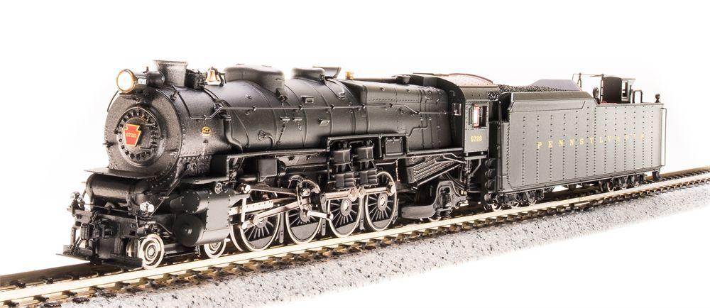 Broadway Limited 3072 (PCM-001) de M1a 4-8-2,  6743, versión antes de la guerra, Paragon 2