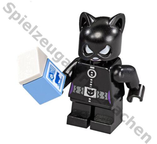 LEGO Minifigur Marvel Catwoman mit Milchtüte und Diamant