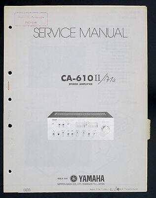 Yamaha CA-610II Original Stereo Amplifier/Amplifier Service Manual/Diagram on peavey jsx schematic, peavey 6505 schematic, marshall haze schematic, bugera v22 schematic, bugera v55 schematic, peavey 3120 schematic, bugera 6260 schematic, blackstar ht 20 head schematic, bugera 333xl schematic, tube pedal schematic, marshall class 5 schematic,