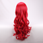 thumbnail 6 - Glamour Women Girls Long Wavy Curly Red Heat Resistant Hair Wig +a wig Cap