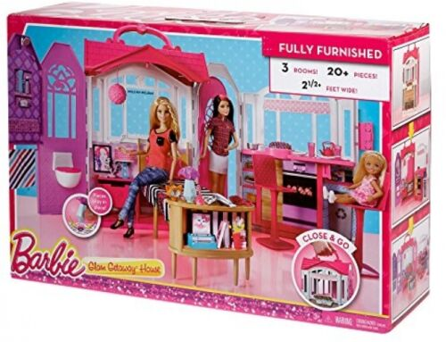 Barbie House Dolls not included Pretend Play Kitchenette Toys Girls Playroom