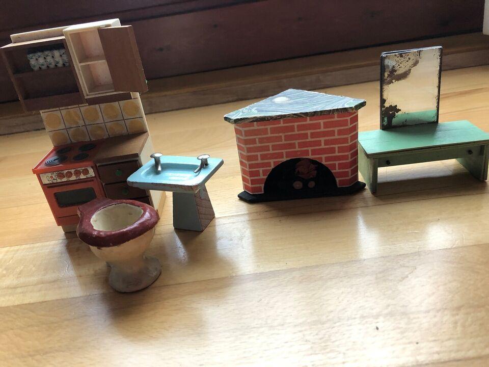 Dukkemøbler, Blandet indbo