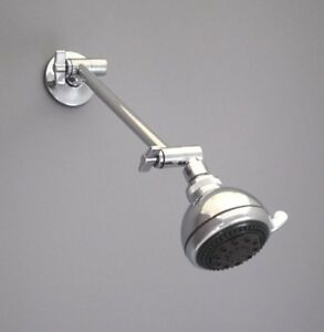 Gentil Image Is Loading Adjustable Shower Head Extension Arm Kit Chrome
