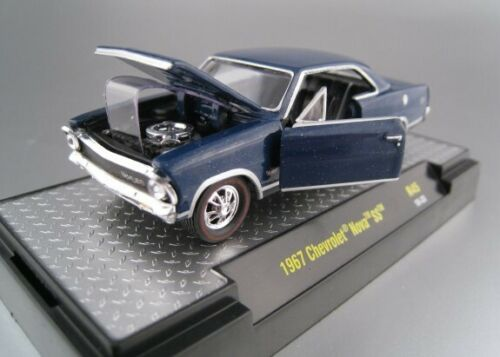 Chevrolet Nova SS  1967  in blau  Limitiert 6.880 Stk  M2  1:64  OVP  NEU