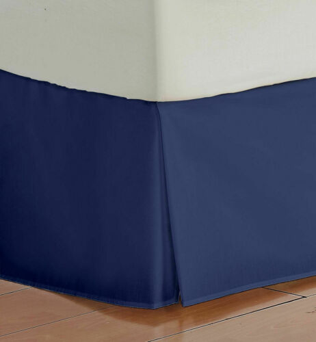 """21/"""" Drop Length Bed Skirt 1000 Thread Count Egyptian Cotton All Sizes /& Colors.,"""