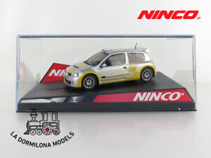 NINCO-50297-RENAULT-CLIO-SUPER-1600-034-SHOWCAR-034-SLOT-SCALEXTRIC-NUEVO
