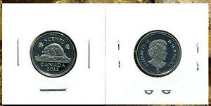 Canada-2012-Proof-Gem-UNC-Five-Cent-Nickel