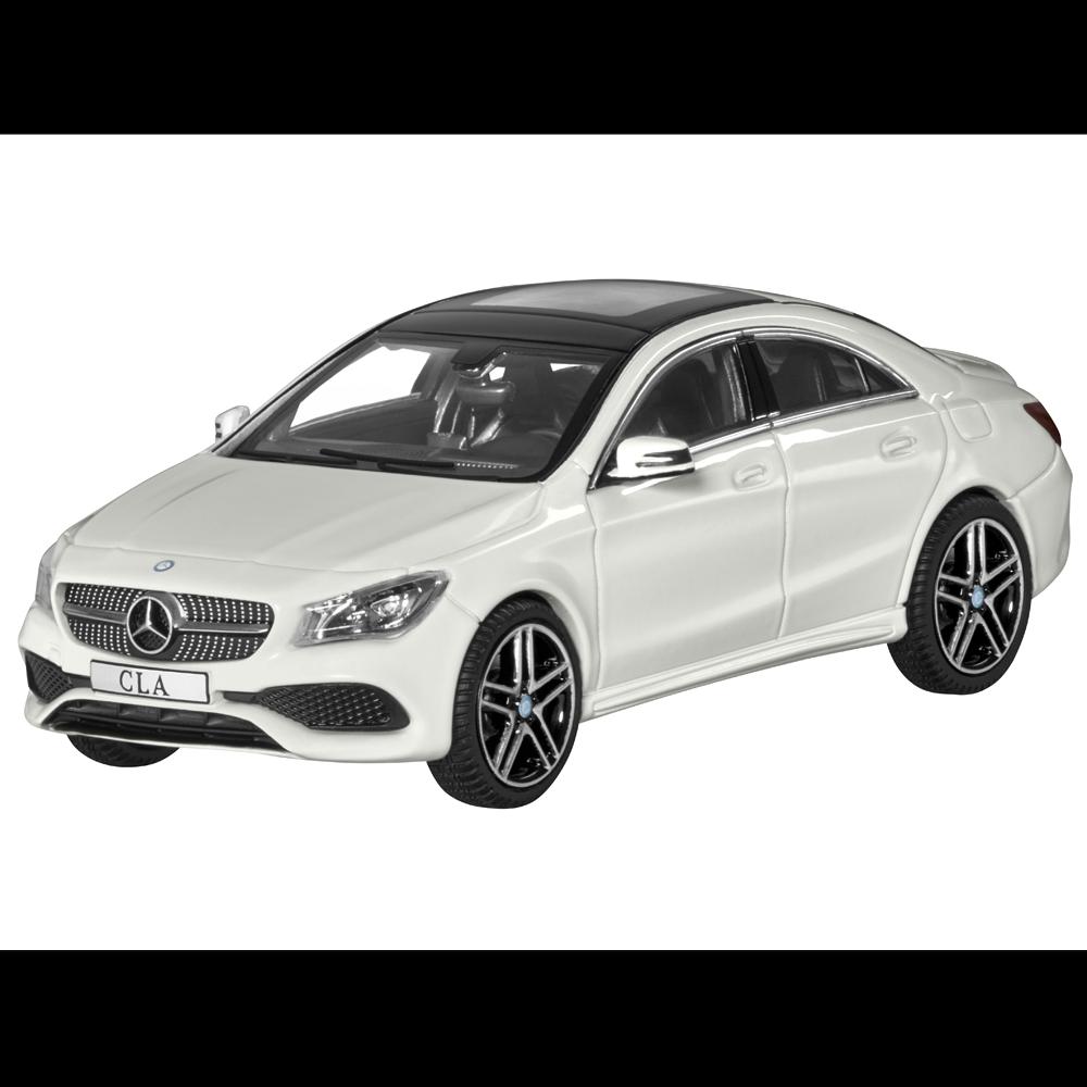 Mercedes-Benz Modello Auto 1:43 Autovettura Cla C117 Coupè Bianco B66960388
