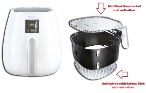 Philips Airfryer HD9238 Heißluftfritteuse Grillen Backen /& Braten Friteuse