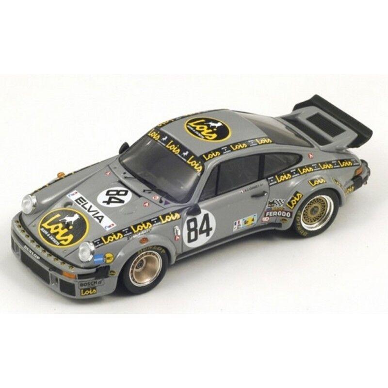 Spark Model 1 43 S3433 Porsche 934 Le Mans 1979 Verney Metge Bardinon NEW
