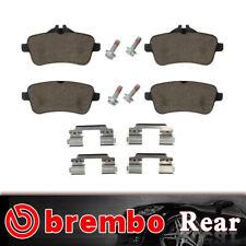 Rear Posi-Quiet Metallic Brake Pads 1Set For 2012-2015 Mercedes-Benz ML63 AMG