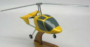 Xenon-Gyrocopter-Helicopter-Wood-Model-Replica-X-Large-Free-Shipping