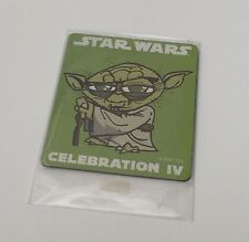 Star Wars Celebration IV 2007 Exclusive Fridge Magnet Jedi Master Yoda