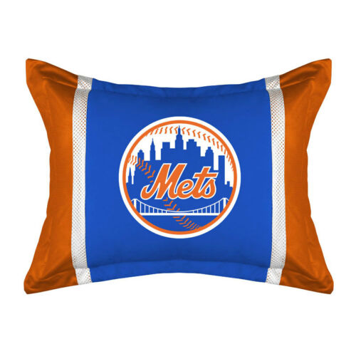 Mets Bulldogs Tigers Bedding Jersey Suede Assorted Sports Pillow Sham Cover