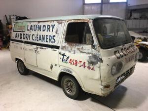 1960's Ford vans