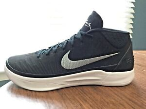 buy online c79e0 d0cd1 Details about NIKE KOBE AD Mid Basketball (942521-002) Size 15.5.  Black/White. ZOOM