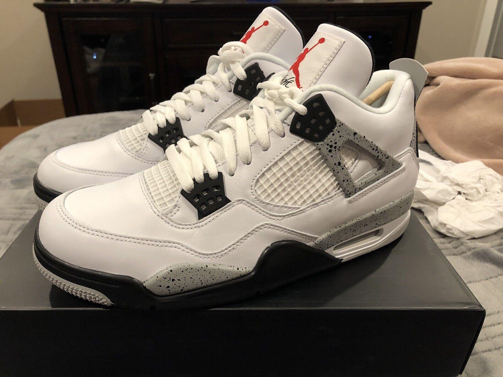 Air Jordan Retro 4 OG White Cements