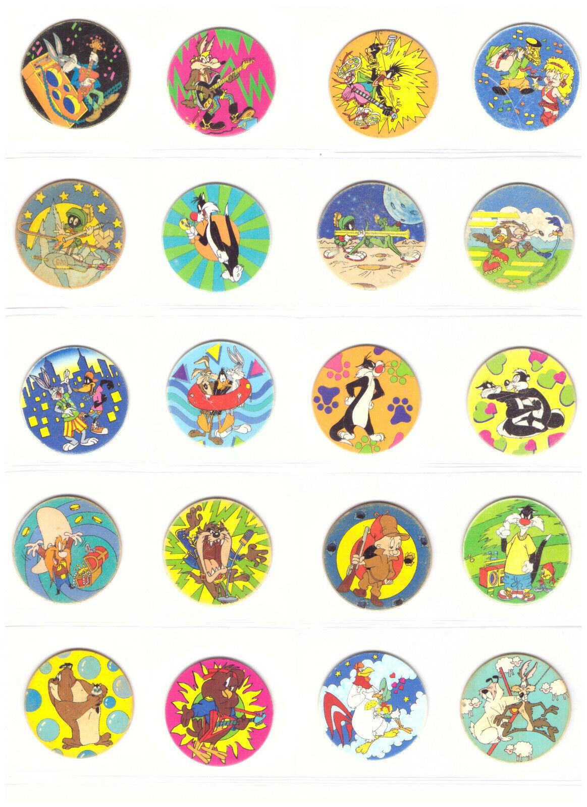 100 TAZOS LOONEY TUNES giocattolo Collection cifras completare giocattoli giocattolo  POGS Bugs Bunny  migliori prezzi e stili più freschi