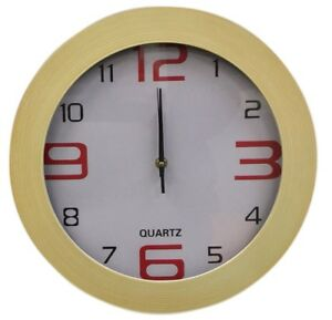 Large-35cm-Wood-Effect-Wall-Clock-Modern-Design-With-Easy-To-Read-Numericals