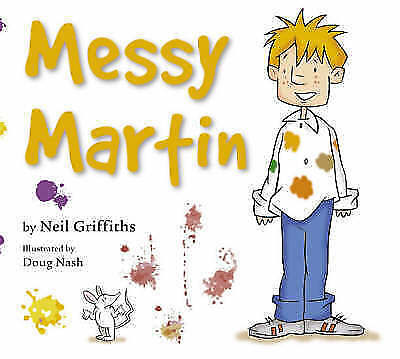 1 of 1 - Messy Martin, Griffiths, Neil, 0954535340, New Book