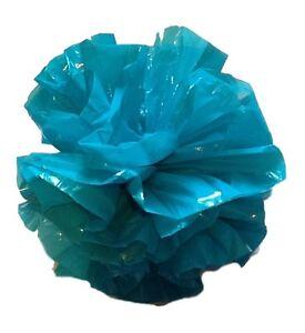 "25 Car Limo wedding Decoration Plastic Pom Poms Flower 4/"" non metallic gold"