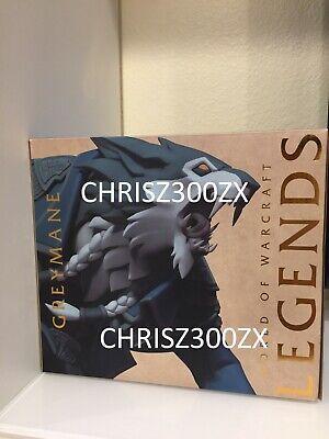 World of Warcraft Legends Greymane Worgen Vinyl Statue Figure Shadowlands PC