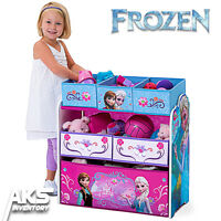 Frozen Princess Kids Toy Organizer Children's Storage Box Bedroom Play Gift