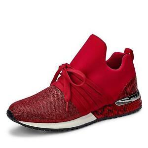 Details zu La Strada Damen Sneaker Schnürschuhe Schuhe Halbschuh Sportschuhe Schlangemuster