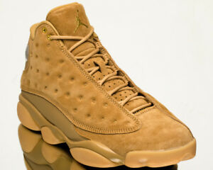 Air Jordan 13 Retro Wheat XIII AJ13 Famous men sneakers Custom NEW Buy gold brown 414571-705