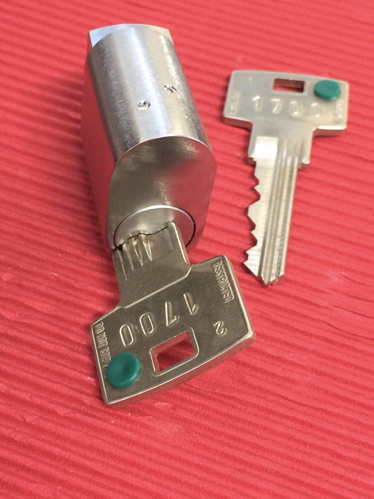 ABUS Cilindro De La Cerradura-equipado con sistema de codificación en línea seguro 6 & Llaves restringido