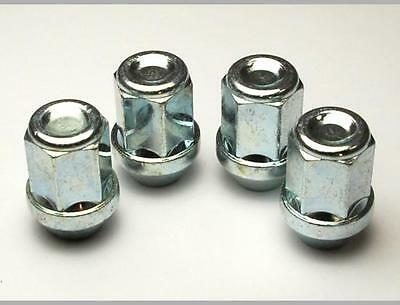 D6 Set of 4 x Wheel Nuts Bolts Lugs for MAZDA MX5 2x1.50 34mm 19 Hex