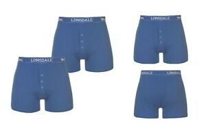 4 Pack Lonsdale Boxer Trunks Boxer Short Boxers Pants XS S M L XL XXL 3XL 4XL