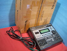 Roland TD-12 V-Drum Drum Sound Module Brain in original box AC 100-240V Used
