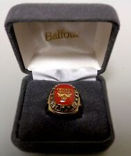 Balfour NBA Chicago Bulls Ring Size 8 Gold BX22/10