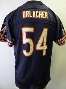 youth XL 18-20 REEBOK GSH CHICAGO BEARS BRAIN URLACHER  54 football ... 823e5f789