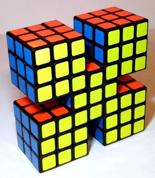 [dernier!] étiqueté pentix Cube pentiks en forme de X Rubix RUBIKS CUBE PUZZLE   Beau    Moelleux Et Léger    Forme élégante    Distinctif