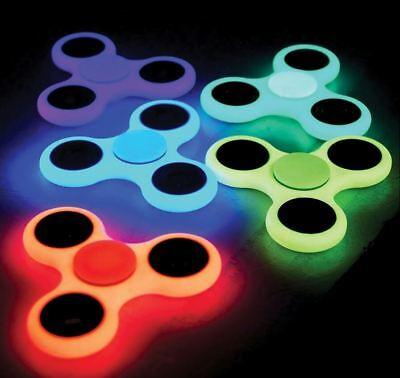 Bleu Doigt Spinner Fidget Stress Toy Focus Stress jeu