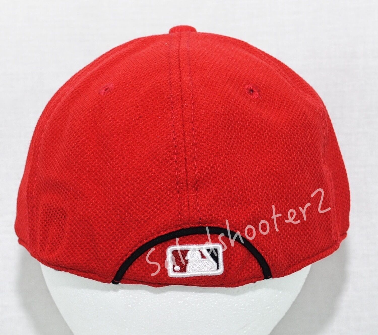 check out b99d6 482d0 ... italy red washington nationals stretch fitted licensed baseball hat  small medium mlb licensed fitted d05d04 828be
