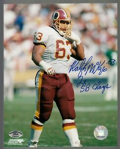 Raleigh-McKenzie-Redskins-Signed-Color-8X10-Photo-W-2x-SB-Champs-SCH-Auth