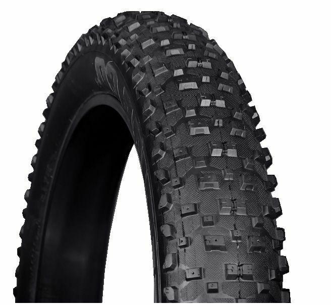 Vee Tire, Snowzapatos XL 4.8 ,Neumático Fatbike, Plegable, 26x4.8 - Fat Tire