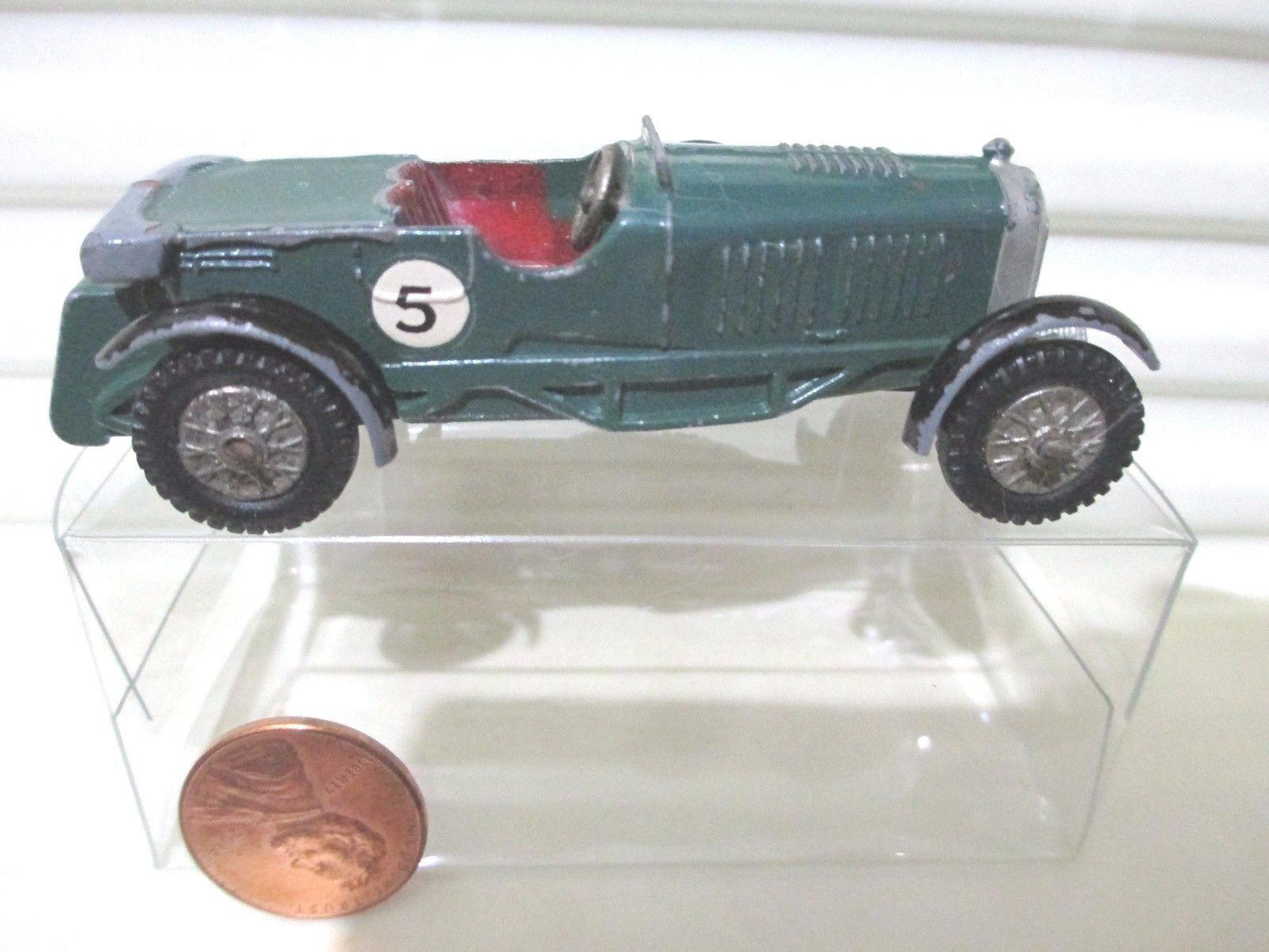 Lesney Matchbox 1958 Models of Yesteryear Y5 Grn 1929 LeMans Bentley grauTonneau