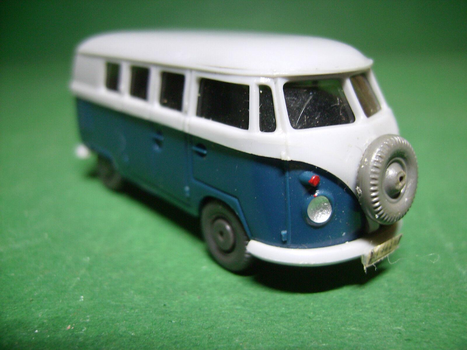 Wiking,VW Bus T1,grey blue blue blue selten, dffcbb