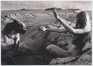Karin-Szekessy-hand-signed-Autograph-Autogramm-auf-Kunstkarte-Anton-und-Dagmar