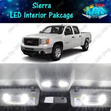 12x White Led Interior Lights Package For 2007 2013 Gmc Sierra 1500 2500 3500