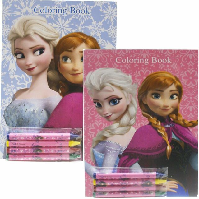- Disney Frozen 2 Different Coloring Books Elsa And Anna (2 Books)-Brand  New!v2 For Sale Online