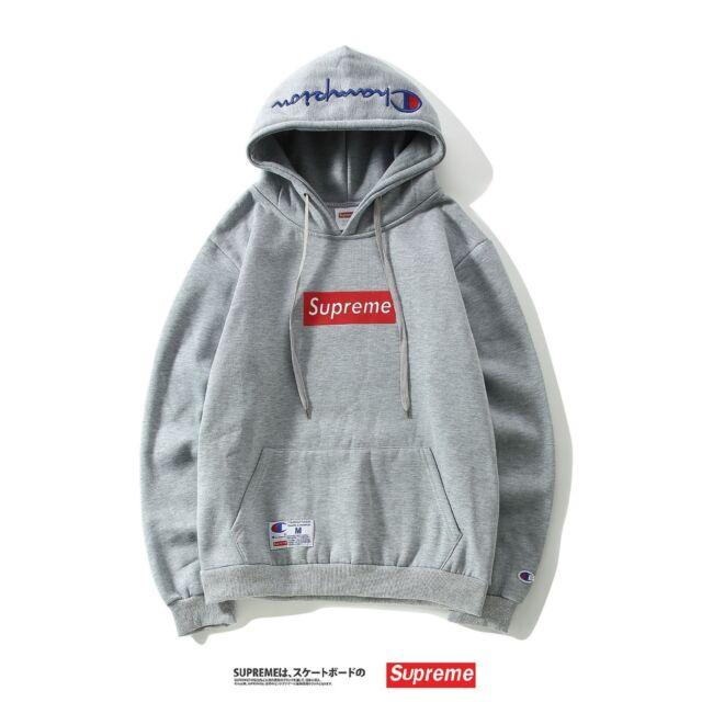 Herren//Damen Supreme Outdoor Hoodie Sweatshirts Hoody Sport Kapuzenpullis Pulli